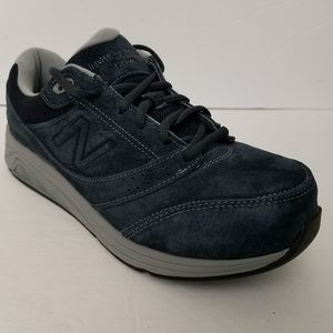 New Balance 9 2E Suede 928v3 Navy Walking Shoes
